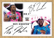 Topps SLAM WWE Kofi Kingston/Big E DUAL SIGNATURE Heritage 2017 [Digital Card]