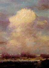 HEDGEPETH original oil painting Impressionism ( Rain) Landscape Utah