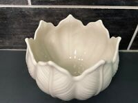 VTG LENOX CHINA PALMETTO LEAF BOWL SCALLOPED EDGE