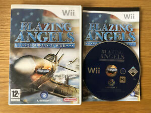 Blazing Angels: Squadrons of WWII (Nintendo Wii, 2007) - PAL | Free Delivery!!!