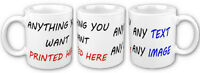 Printed Custom Personalised Mug Mugs With Your Own Text Image Picture Photo