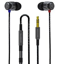 SoundMAGIC E10 GUNMETAL & Black Noise Isolating In-Ear Headphone Earphone Earbud
