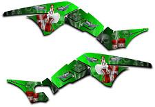 HONDA TRX250R GRAPHICS DECAL KIT AMERICAN HERO TRX 250 R STICKER PINUP GREEN