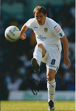 Neil KILKENNY SIGNED COA Autograph 12x8 Photo AFTAL Leeds United