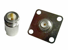 Bird 4240-403 N Female with Quick Change Unidapt Flange for Bird 43 Wattmeters