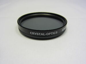 Used CRYSTAL-OPTICS 52mm P.L Lens Fillter Made in JAPAN 6418046