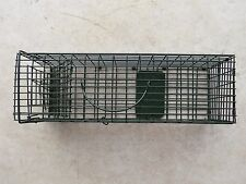 """Duke Cage/Live Trap 16""""x5""""x5"""" #1100 Trapping Squirrel Chipmunk Rat"""
