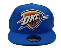 Oklahoma City Thunder New Era 9Fifty Big XL Logo Threads Adjustable Snapback Hat