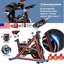 Pro Exercise Bike Stationary Indoor Cycling Bicycle Fitness Cardio Home Training