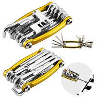 Portable Bicycle Tool Kit  Multi Function Set Bike Cycling Spanner Wrench Repair