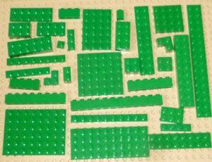 LEGO - GREEN - BRICKS & PLATES, Choose Part & Quantity - GRN