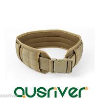 1000D Nylon Detachable Adjustable Army Military Tactical Molle Padded Waist Belt