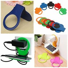 Convenient Phone Wall Charger Hanger Holder for iPhone Samsung LG NOKIA Nexus