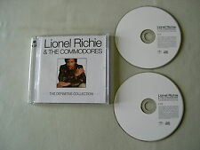 LIONEL RICHIE & THE COMMODORES The Definitive Collection 2CD album