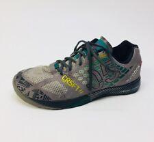Men's Reebok Crossfit Nano 2.0 Sneakers, Gray Green Blk Mesh Size 7.5 M