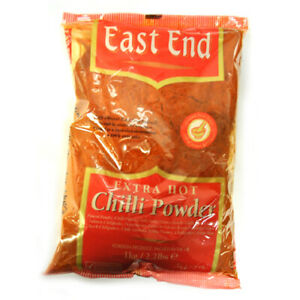 East End Extra Hot Chilli Powder - Excellent Quality 1kg (Bulk Pack) Free Del