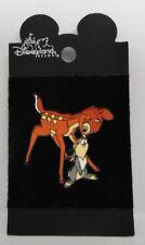 Disney Bambi & Thumper Touching Noses 2001 Black Pin Rare