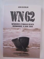 WN62: Mémoires à Omaha Beach Normandie, 6 juin 1944 - French Text