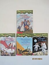 Magic Tree House Books by Mary Pope Osborne, Lot of 4 Books