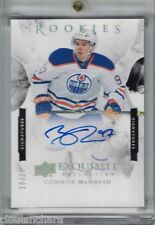 15-16 Upper Deck Exquisite Collection Rookies Autograph GOLD Connor Mcdavid /15
