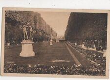 Allee De l'Observatoire Paris France 1932 Postcard 696a