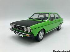 Audi 80 GTE 1972 - grün/ schwarz - 1:18 KK-Scale