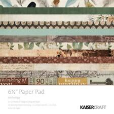 """Kaisercraft ANTHOLOGY - 6.5"""" x 6.5"""" Paper Pad - 40 pages"""