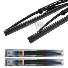 2x Premium Classic Limpiaparabrisas Goma Arandela Metálica Set en 530/450mm