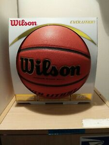 Wilson Evolution 29.5 Inch Indoor Game Basketball - Black