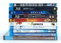 Lot of 10 Blu-ray Disc Movies Action & Family Muppets Take Manhattan Avatar