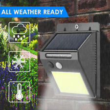 48Led Solar Cool Light Power Pir Motion Sensor Outdoor Wall Waterproof Yard Lamp
