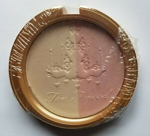 Too Faced Candlelight Glow Highlighting Powder Duo Rosy Glow .35 oz NO BOX ❤READ