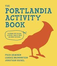 The Portlandia Activity Book (2014, Spiral) (NEW)
