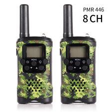 2 Pack JAJA Mini Walkie Talkies PMR446 Scanner Walkie Talkie Kid Gift Backlight
