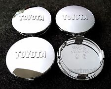Toyota Wheel Center Caps Tundra Sequoia Tacoma Chrome Cap C32C-TOY NEW 4pcs