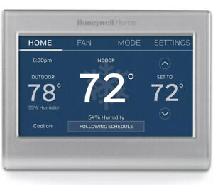 Honeywell Home RTH9585WF1006 Wi-Fi Smart Color Thermostat, 7 Day Programmable To