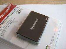 TS-RDF2 Transcend USB 3.0 CFast 2.0 Card Reader Black New