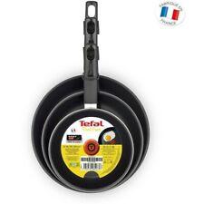 Tefal First Cook 3 Piece Frypan Set 18, 22 & 26cm Non-Stick Frying Pan