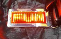 LED Gürtel Gürtelschnalle party gadgets laufschrift display promo Flirt cool