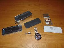 Jeep Chrysler 2009 Utility Water Resistant Quartz Steel Men's Timepiece Watch