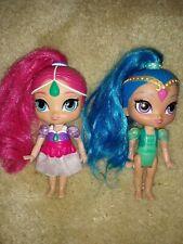 Two Mattel Princess 5 inch Dolls