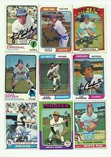1974 Topps signed Jose Cardenal #185 Cubs