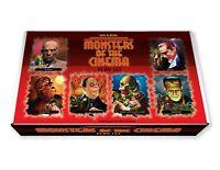 Marx Monsters Play Set Box. The Mummy, Wolfman, Phantom, Dracula, Frankenstein