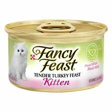 New listing Fancy Feast Gourmet Kitten Tender Canned Food(20x3oz)