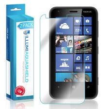 2x iLLumi AquaShield Crystal HD Clear Screen Protector Cover for Nokia Lumia 620