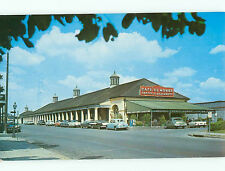 Vintage Post Card Restaurant Cafe Du Monde French Market Coffee Stand LA  # 5154