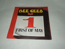 BEE GEES-DISCO VINILE 45 GIRI FIRST OF MAY - POLIDOR -