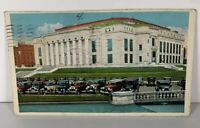 Vintage Postcard New Columbus City Hall Ohio Postmarked 1937 City Government