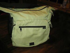 L.L. Bean, crossbody, messenger/travel bag, green