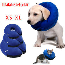 Pet Collar Surgery Inflatable Dog Puppy Cat Lampshade Cone Neck Injury Vet Post